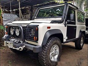 Sell White 1997 Land Rover Defender in Pasig