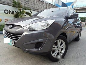 Selling Grey Hyundai Tucson 2012 in Quezon City