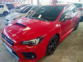 Selling Red Subaru Wrx 2018 Automatic Gasoline