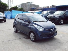 Sell Blue 2019 Hyundai Eon Manual Gasoline at 25326 km