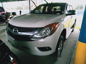 White Mazda Bt-50 2016 for sale in Quezon City