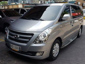Silver Hyundai Grand Starex 2017 Automatic Diesel for sale