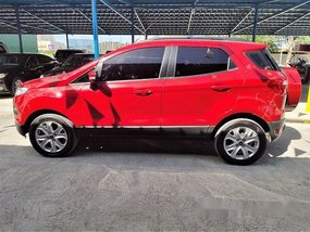 Red Ford Ecosport 2016 at 37000 km for sale Paranaque