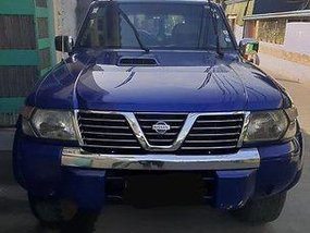 Sell Blue 2001 Nissan Patrol at 140000 km