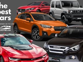 Get the most bang for your buck! Top brand new cars priced from P1M to P1.5M