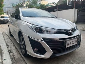 Selling Pearl White Toyota Vios 2019 in Quezon City