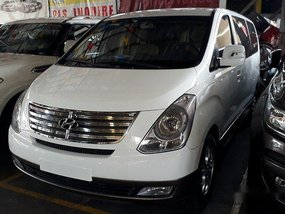 White Hyundai Grand Starex 2015 for sale in Quezon City
