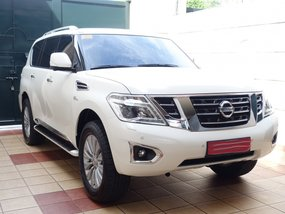 Pearlwhite Nissan Patrol royale 2018 at 2790 km for sale