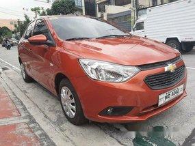 Orange Chevrolet Sail 2017 for sale in Quezon City