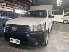 White Toyota Hilux 2017 for sale in Quezon City