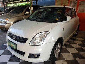 White Suzuki Swift 2009 for sale in Marikina