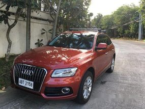 Red Audi Q5 2016 for sale in Makati