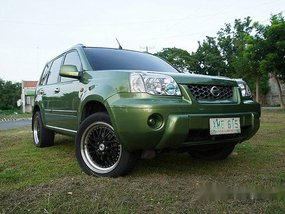 Green Nissan X-Trail 2005 for sale in Pasig
