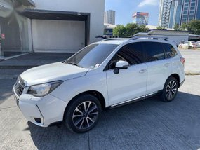 Pearlwhite Subaru Forester 2017 for sale in Pasig