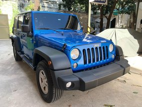 Selling Jeep Wrangler 2016 in San Juan