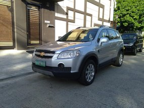 Selling Silver Chevrolet Captiva 2010 in Quezon City