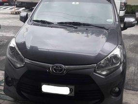Gray Mica Toyota Wigo 2019 new look for sale in Manila