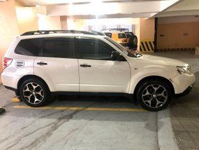 Sell Pearl White 2010 Subaru Forester in Manila