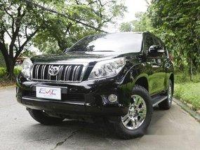 Sell Black 2014 Toyota Land Cruiser Prado in Quezon City