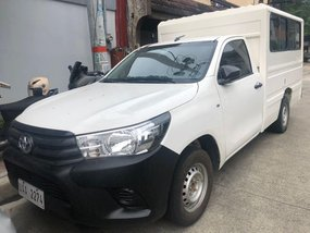 Sell 2017 Toyota Hilux in Quezon City