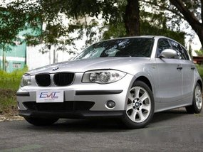 Selling Silver Bmw 118I 2006 in Quezon City