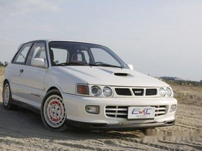 White Toyota Starlet 1997 for sale in Quezon City