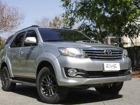 Sell Silver 2015 Toyota Fortuner in Quezon City