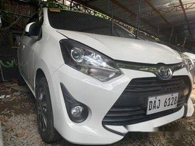 White Toyota Wigo 2019 for sale in Quezon City
