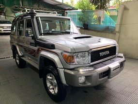 Silver Toyota Land Cruiser 2020 for sale in Quezon City