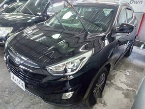 Black Hyundai Tucson 2014 for sale in Quezon City