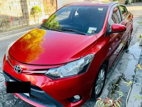 Selling Red Toyota Vios 2014 in Bacoor