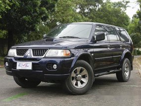 Sell Blue 2005 Mitsubishi Montero Sport in Quezon City