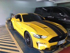 Yellow Ford Mustang 2018 for sale in Pasig