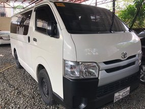 Sell 2018 Toyota Hiace in Quezon City