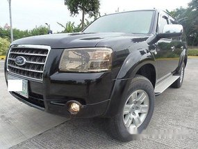 Black Ford Everest 2009 for sale in Quezon City