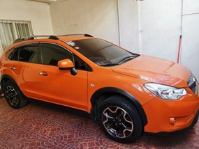 Selling Orange Subaru Xv 2014 in Quezon City