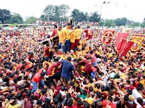 A list of closed routes during the 2020 Feast of the Black Nazarene
