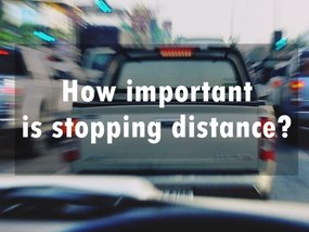 Safe driving tips: How important is stopping distance?