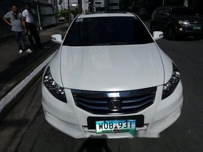 White Honda Accord 2013 for sale in Pasig