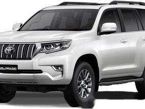 Sell White 2020 Toyota Land cruiser prado in Talisay