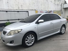Silver Toyota Corolla Altis 2008 for sale in Quezon City