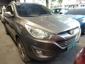 Brown Hyundai Tucson 2010 for sale in Quezon City