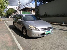 Sell Silver 2005 Honda Accord in Quezon City