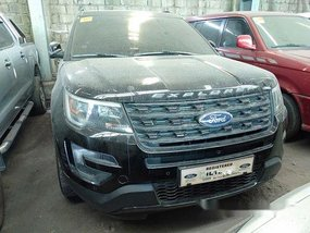 Black Ford Explorer 2016 for sale in Quezon City
