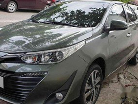 Selling Green Toyota Vios 2019 in Quezon City