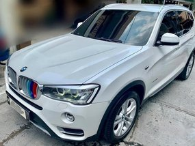 Pearl White Bmw X3 2015 for sale in Makati