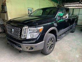 Black Nissan Titan 2019 for sale in Quezon City