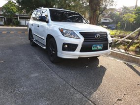 Selling Lexus Lx 570 2013 in Quezon City