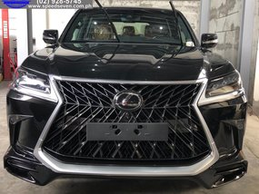 2020 Lexus LX450D Black Edition