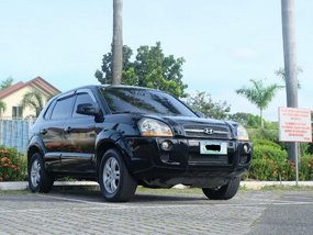 Sell Black 2007 Hyundai Tucson in Quezon City